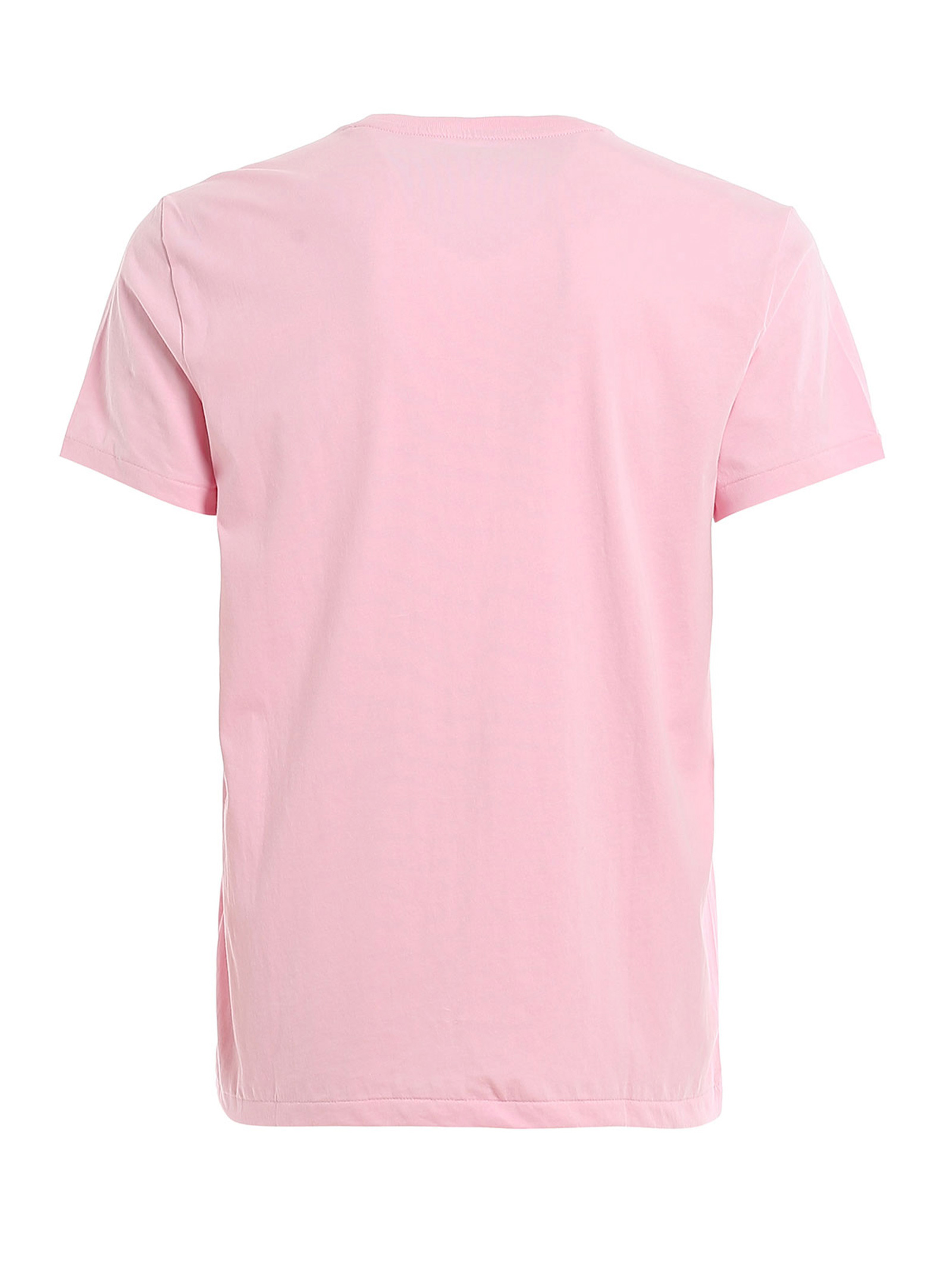 T-shirt rosa girocollo slimfit RALPH LAUREN   T-shirt   710-671438145