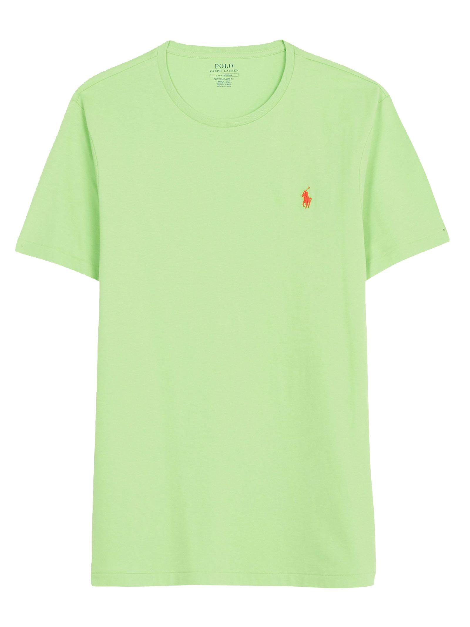 T-shirt verde girocollo slimfit RALPH LAUREN   T-shirt   710-671438215
