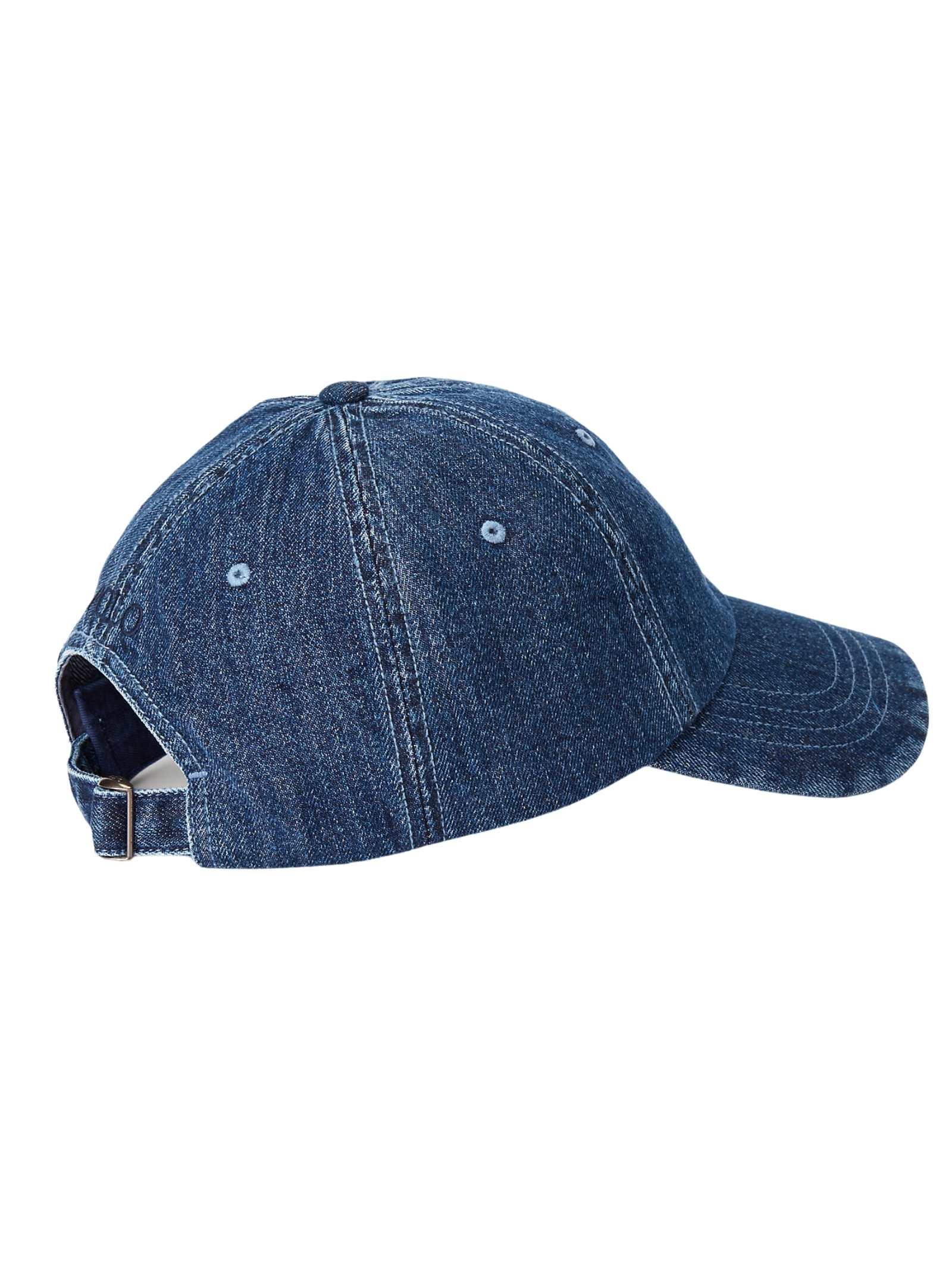 Cappello in jeans con logo RALPH LAUREN   Cappello   710-674341001