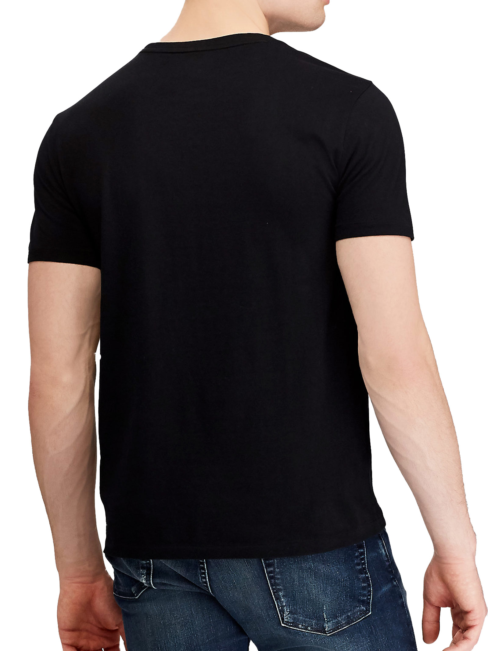 T-shirt girocollo con logo RALPH LAUREN | T-shirt | 710-680785001