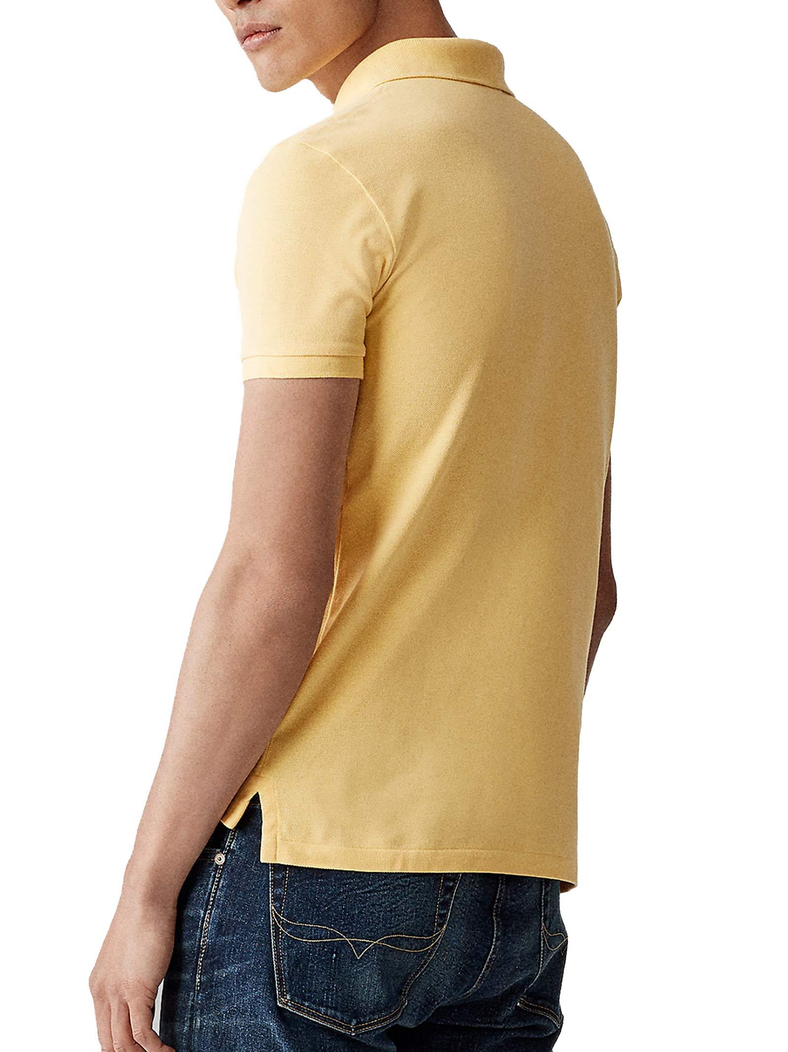 Polo regular in cotone giallo RALPH LAUREN | Polo | 710-795080003