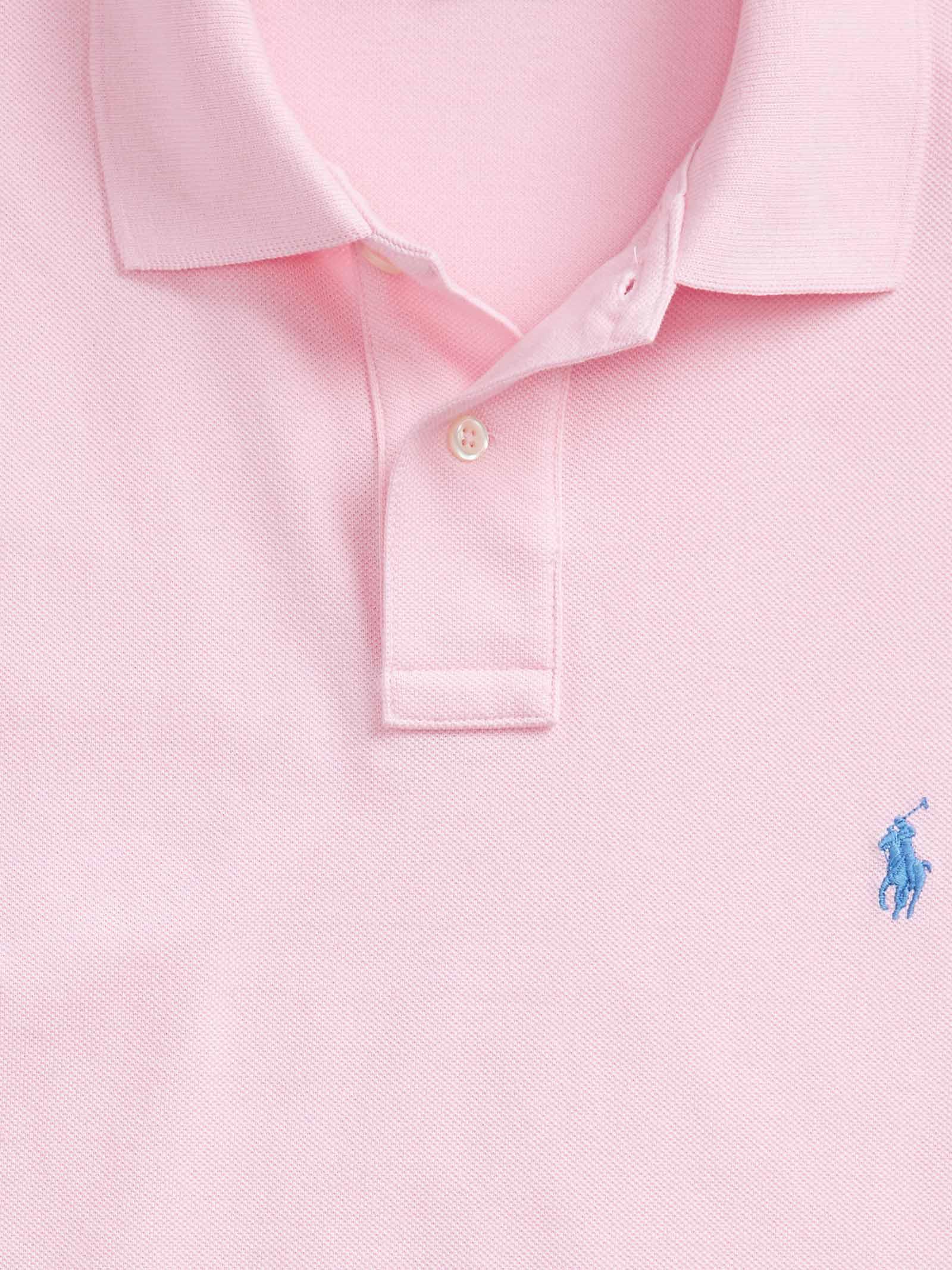 Polo regular in cotone rosa RALPH LAUREN   Polo   710-795080004