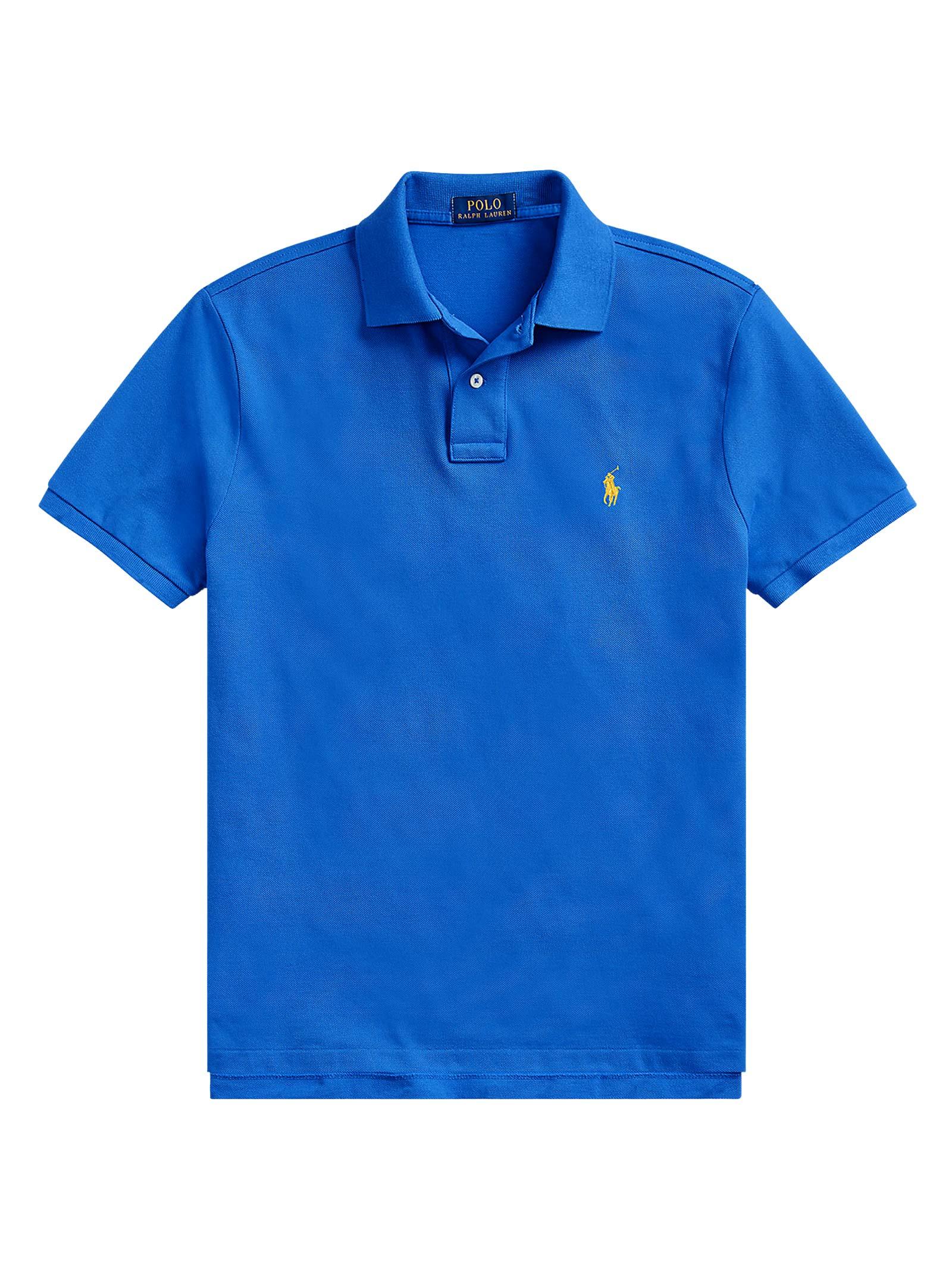Polo regular in cotone blu RALPH LAUREN | Polo | 710-795080014