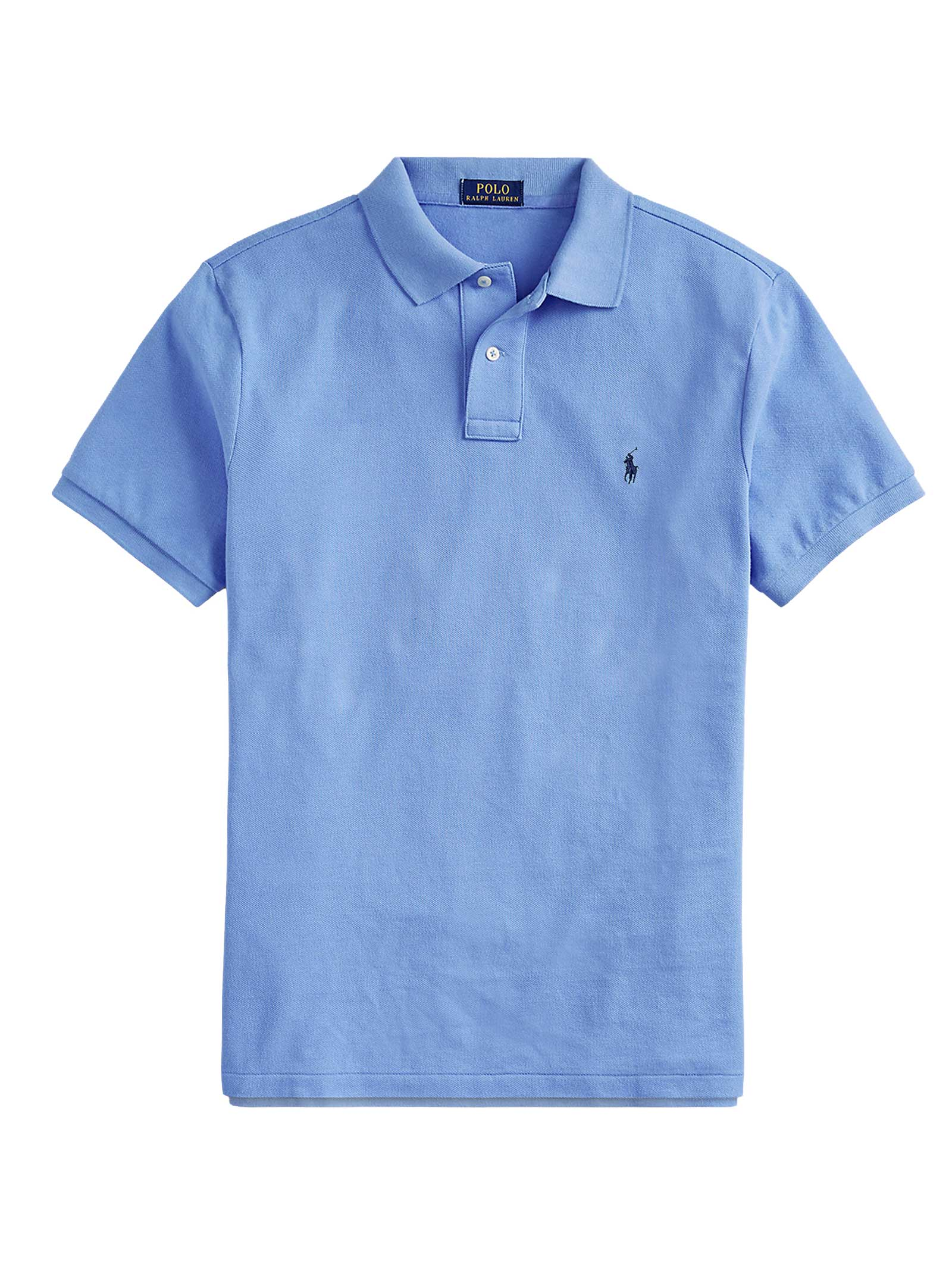 Polo regular in cotone blu RALPH LAUREN   Polo   710-795080015