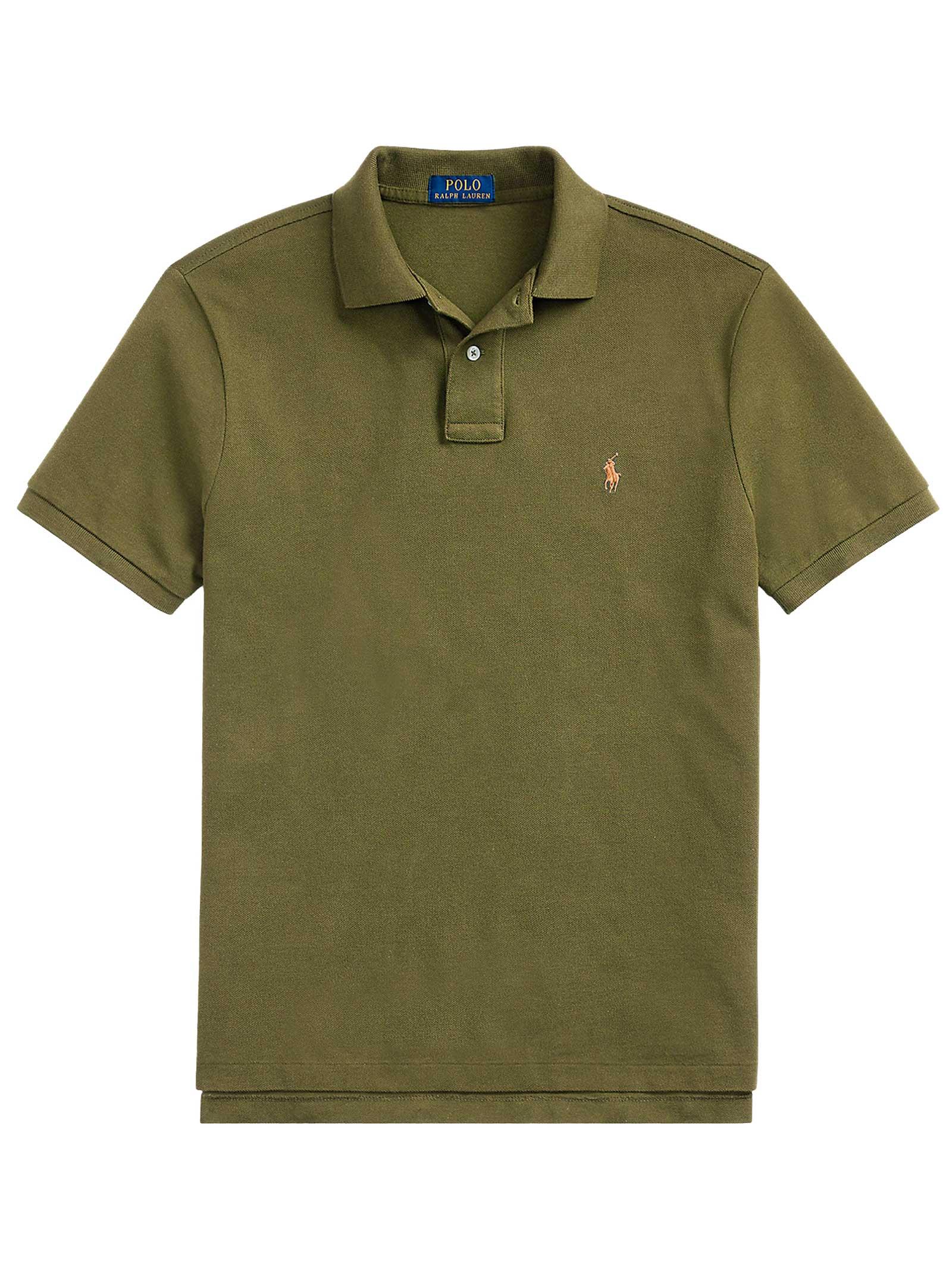 Polo regular in cotone verde RALPH LAUREN   Polo   710-795080017