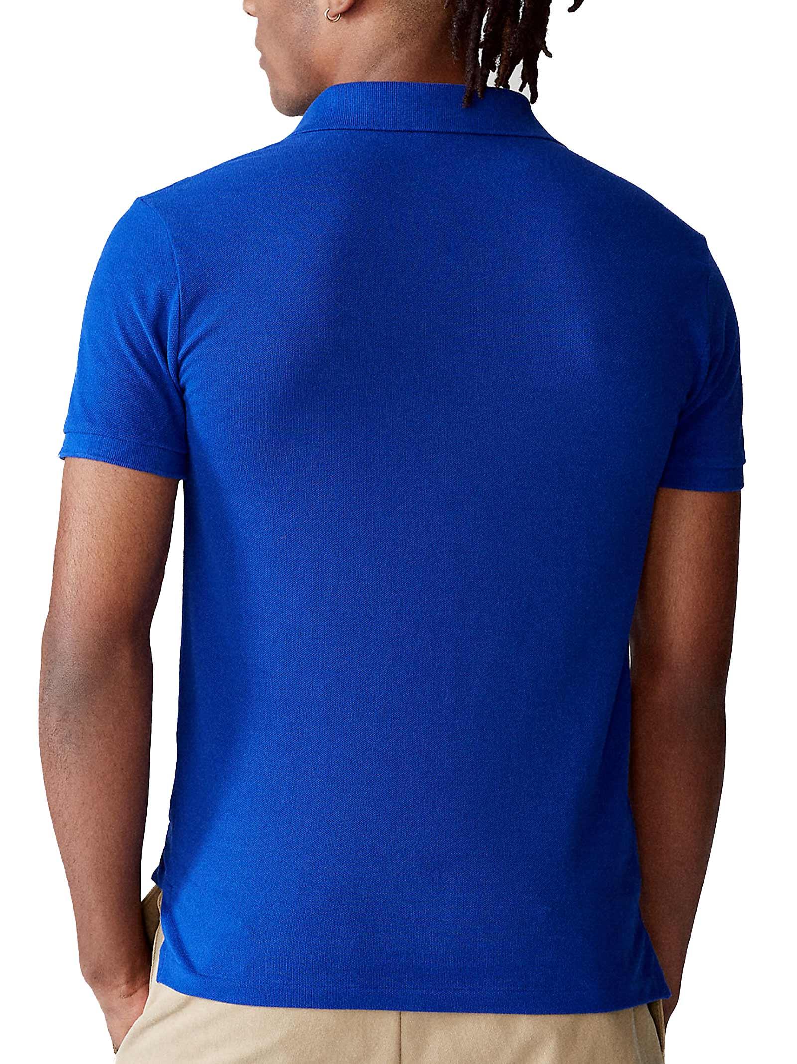 Polo regular in cotone blu RALPH LAUREN   Polo   710-795080021