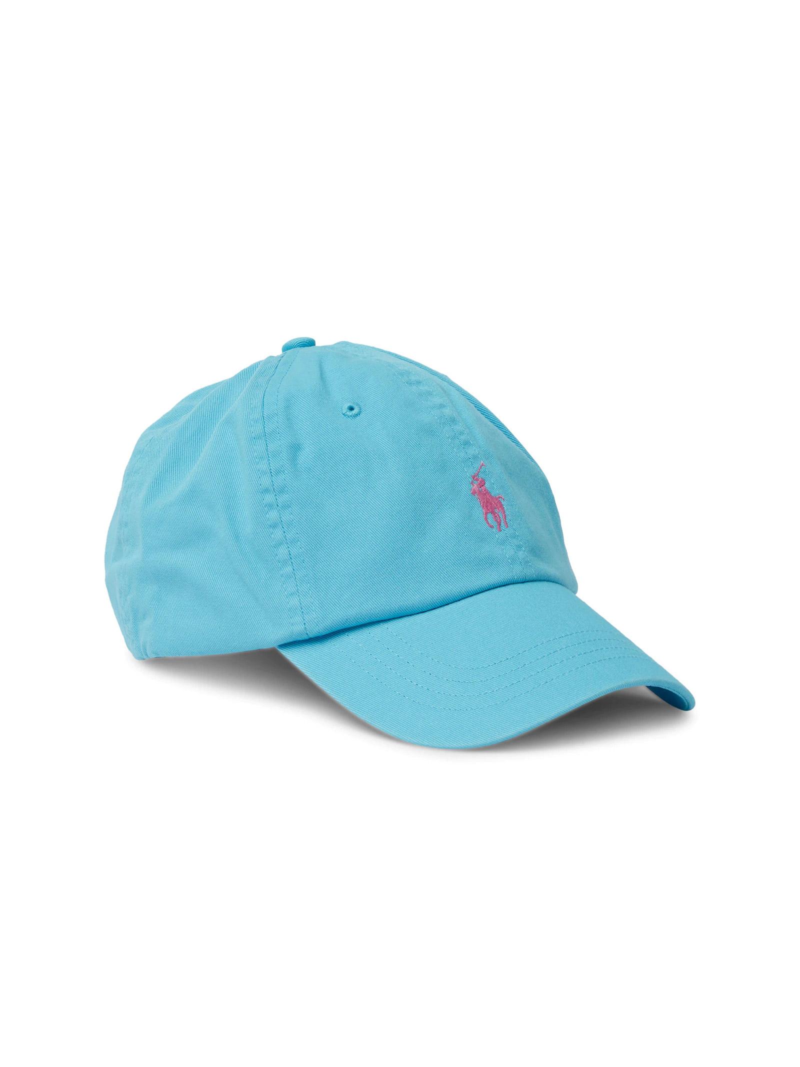 Cappello con visiera celeste RALPH LAUREN | Cappello | 710-811338006