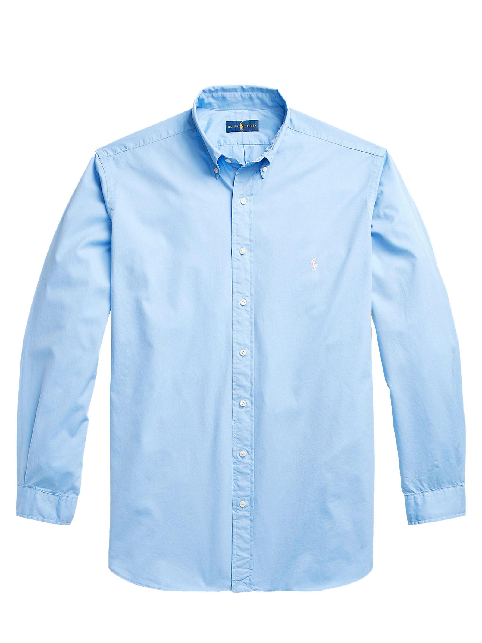 Camicia  in cotone con collo button down RALPH LAUREN | Camicia | 710-829421011