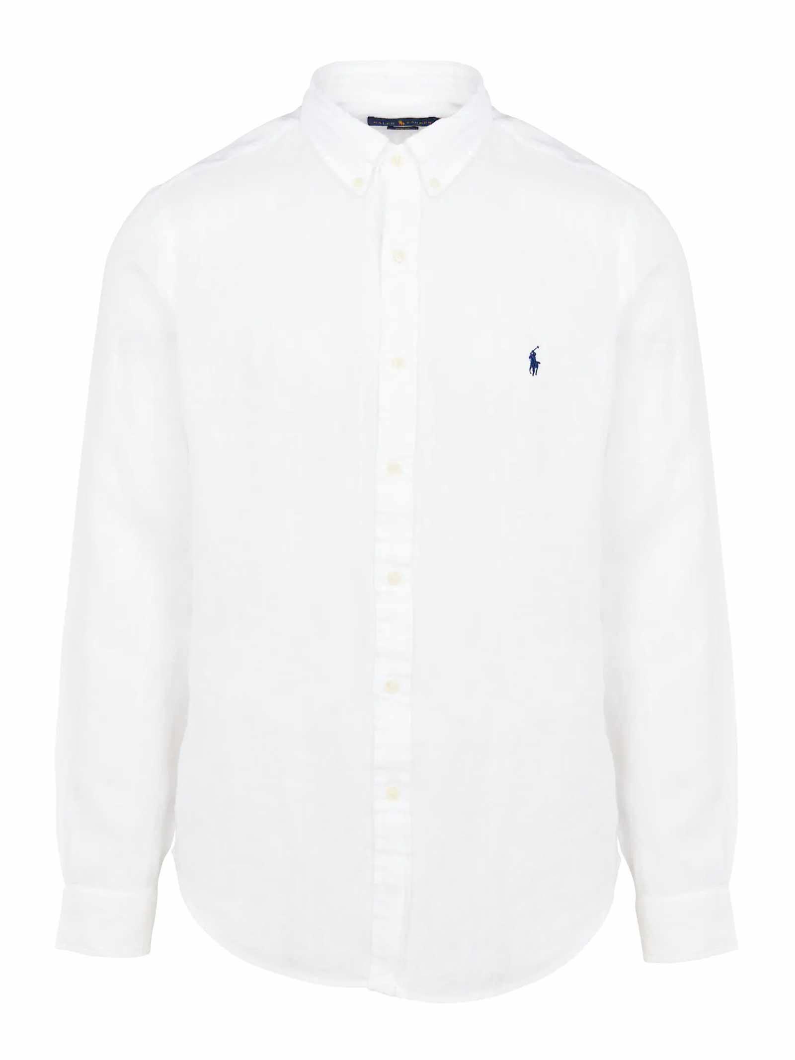 Camicia  in cotone con collo button down RALPH LAUREN | Camicia | 710-829443002