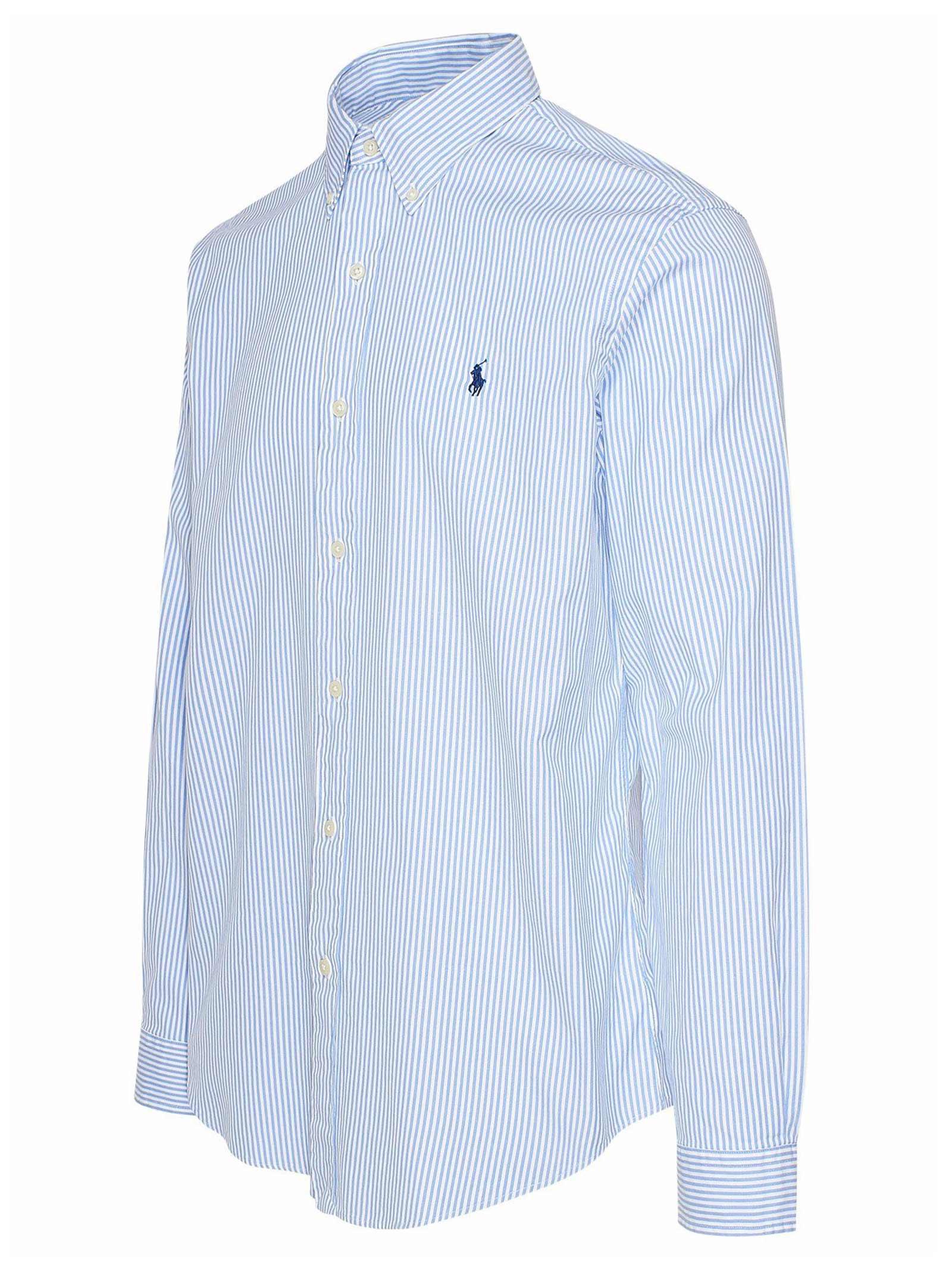 Camicia  in cotone con collo button down RALPH LAUREN | Camicia | 710-829480005