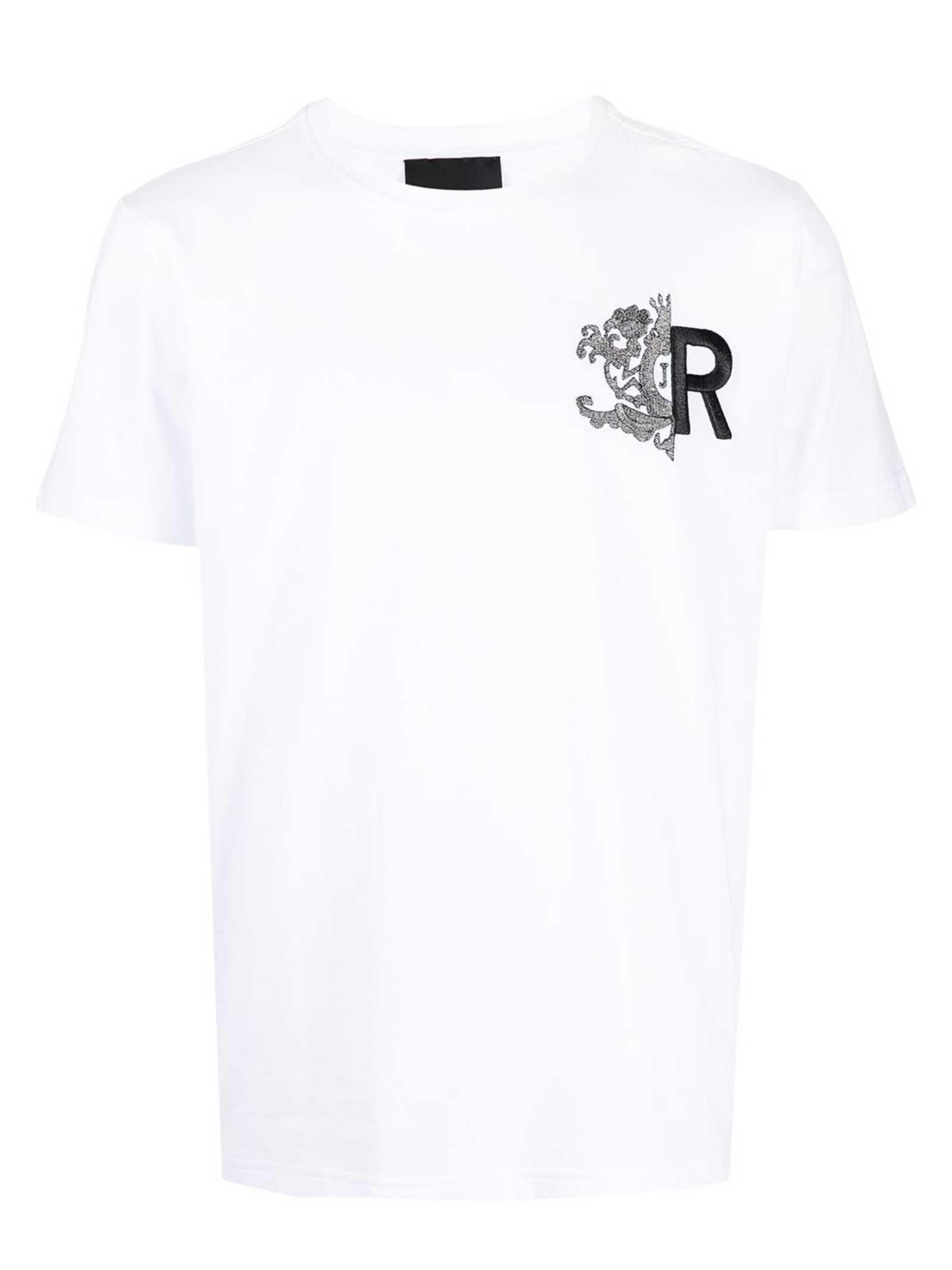 RICHMOND   T-shirt   RMP21079TSHBWHITE