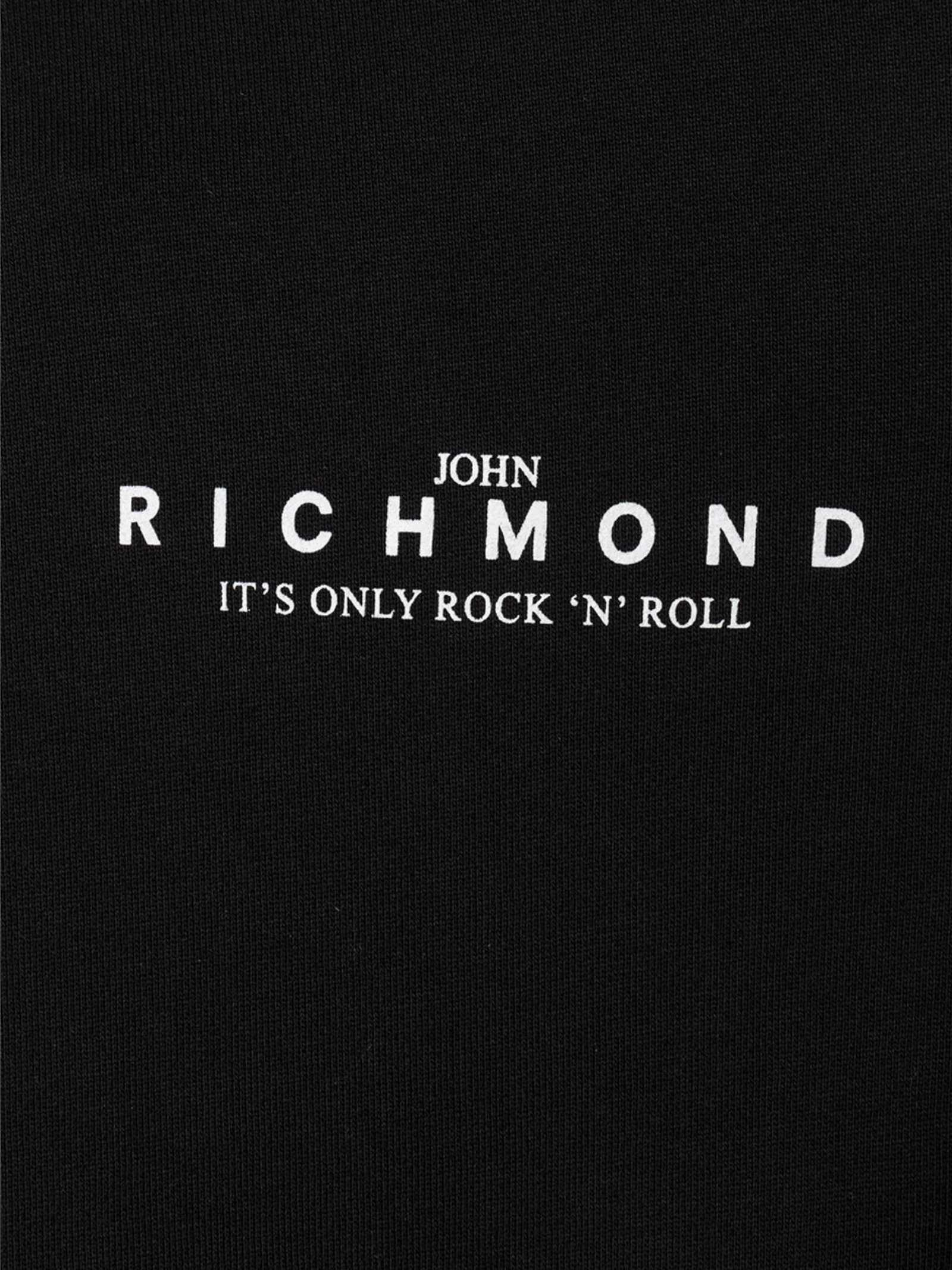 RICHMOND   Felpa   RMP21207FEXXBLACK