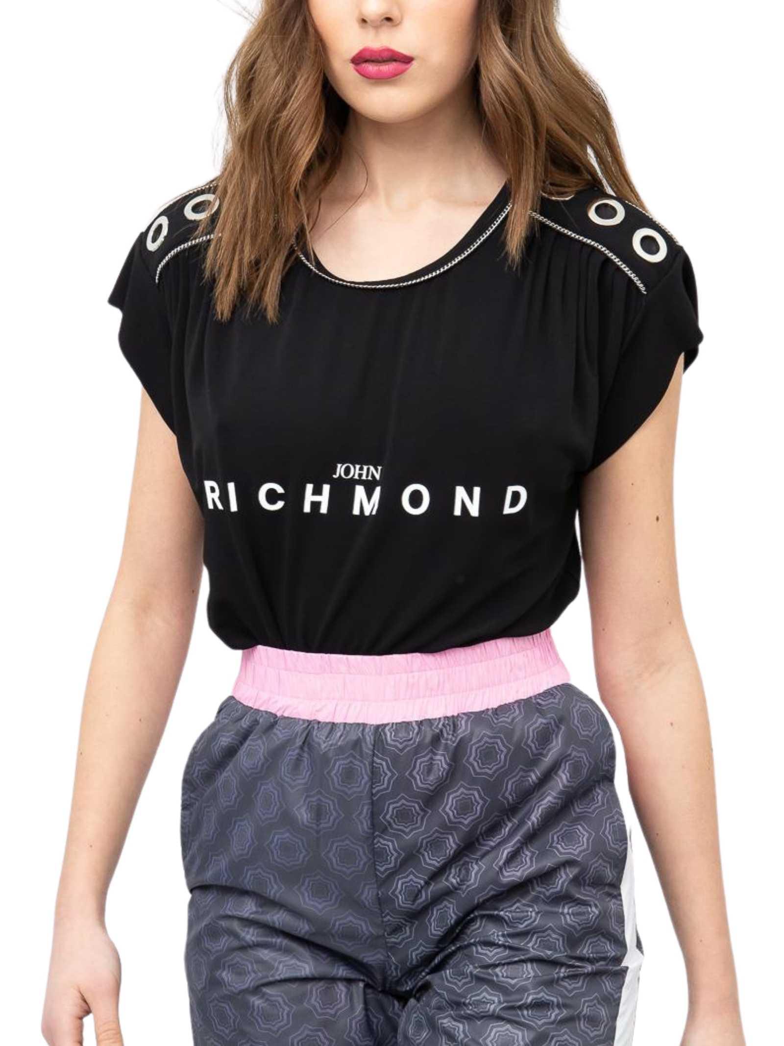 RICHMOND   T-shirt   RWP21109TSE8BLACK