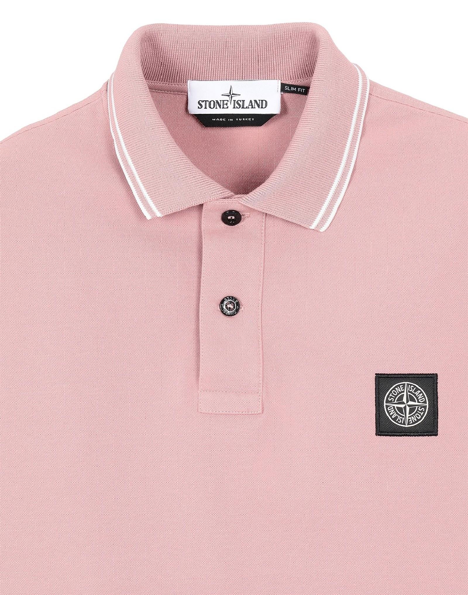 Polo con logo STONE ISLAND | Polo | MO101522S18V0086