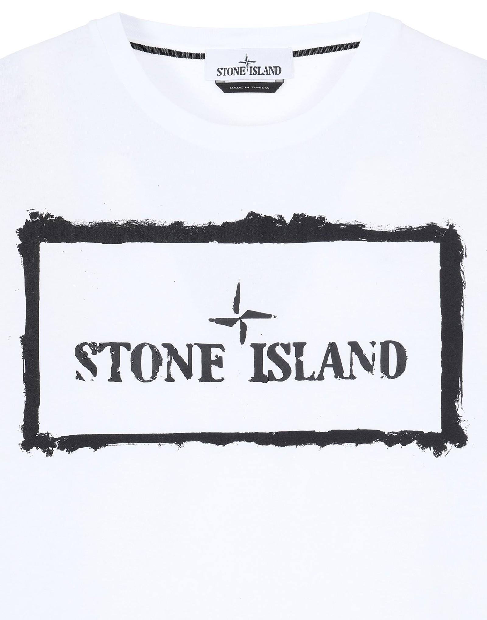 T-shirt girocollo STONE ISLAND | T-shirt | MO74152NS80V0001