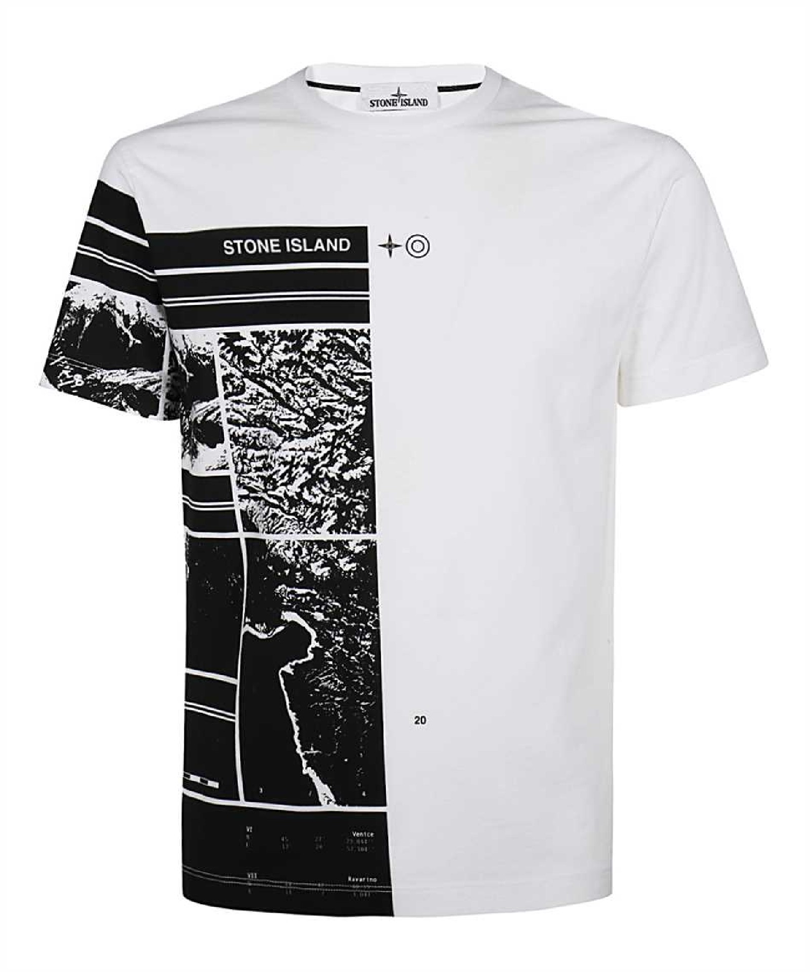 T-shirt girocollo STONE ISLAND | T-shirt | MO74152NS87V0001