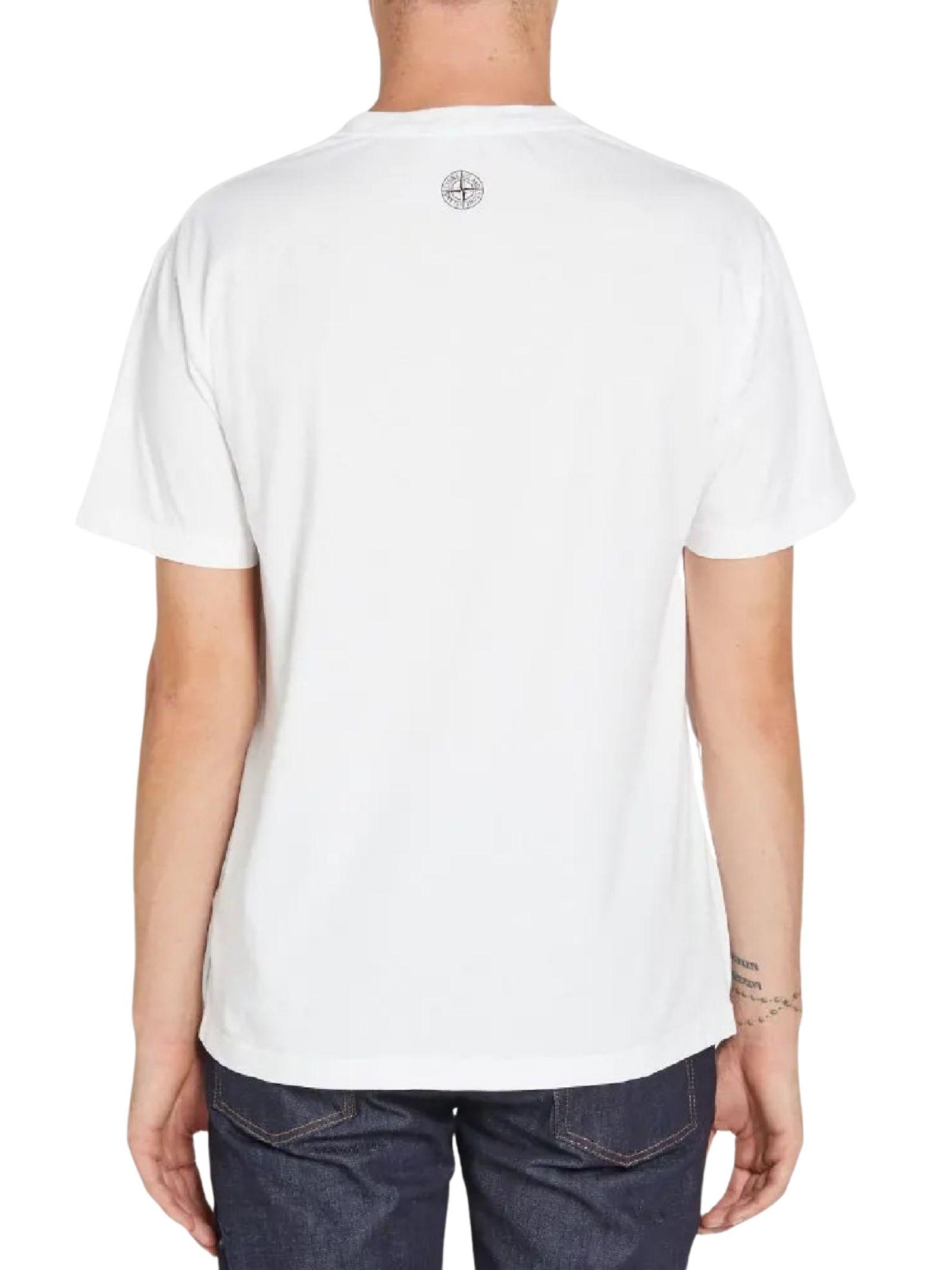 T-shirt girocollo STONE ISLAND   T-shirt   MO74152NS88V0001