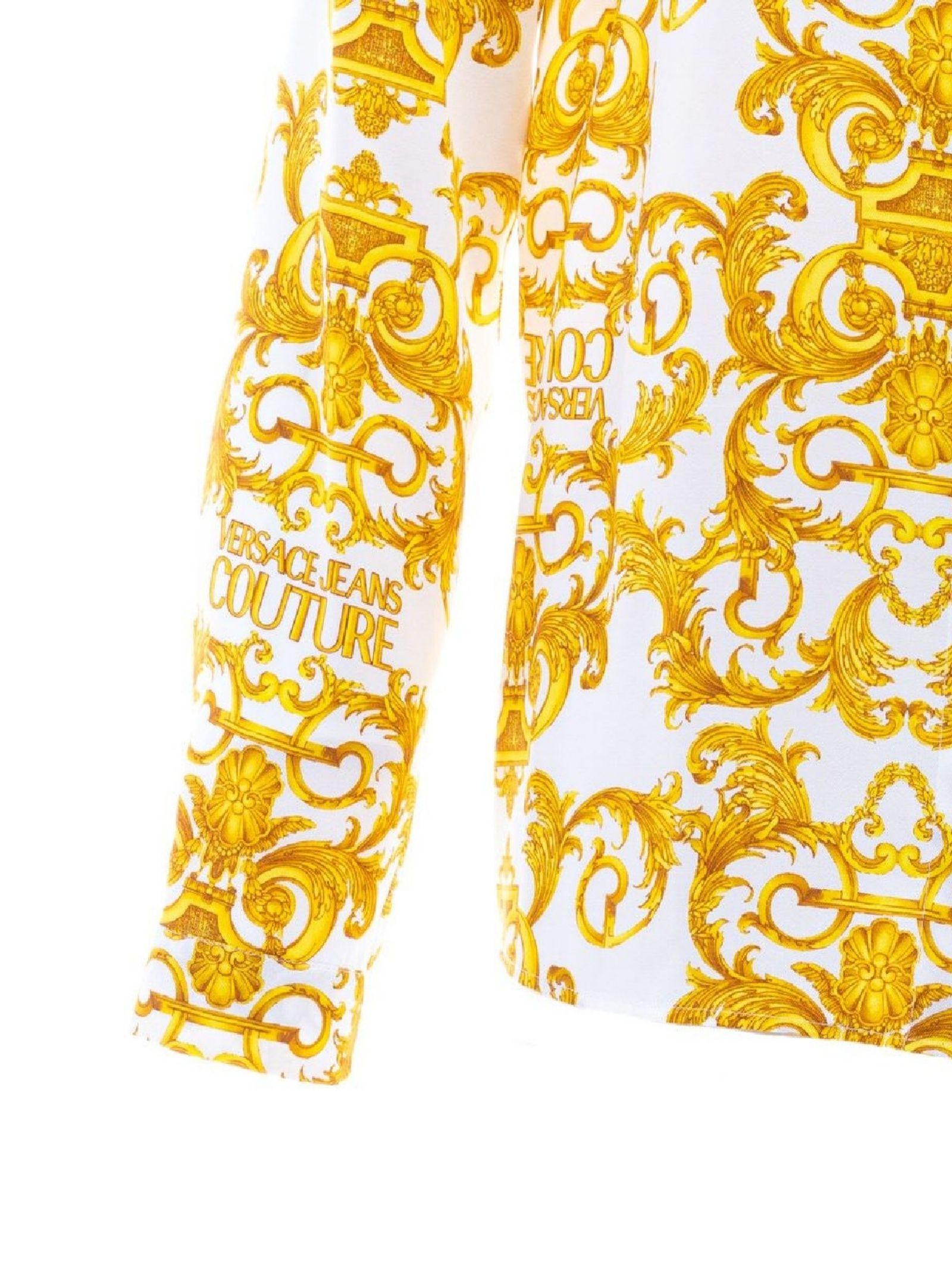 Camicia  con stampe all over VERSACE JEANS | Camicia | B0HWA628S0990003