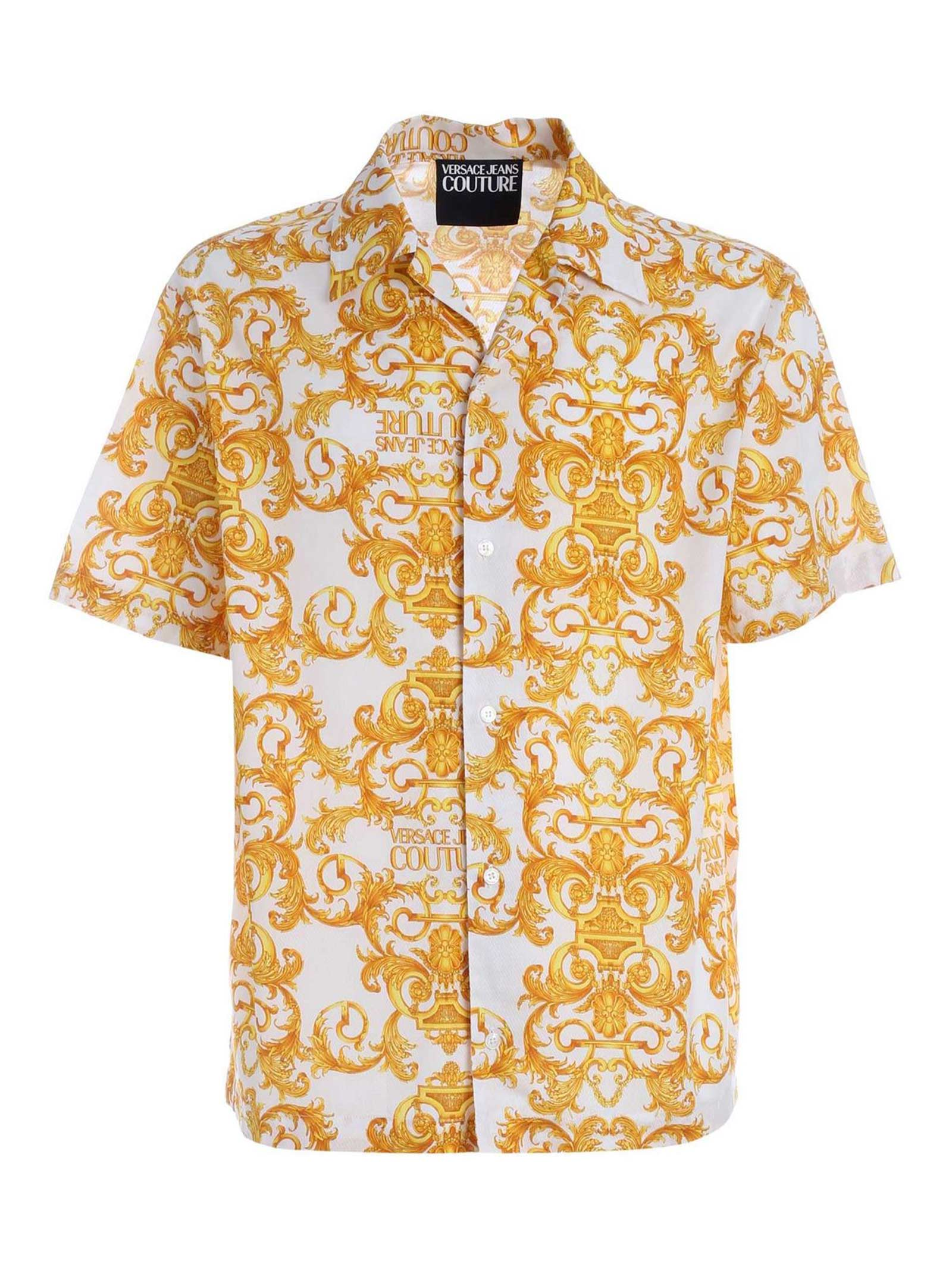 Camicia Barocco VERSACE JEANS   Camicia   B1 GWA6B4S0152 003
