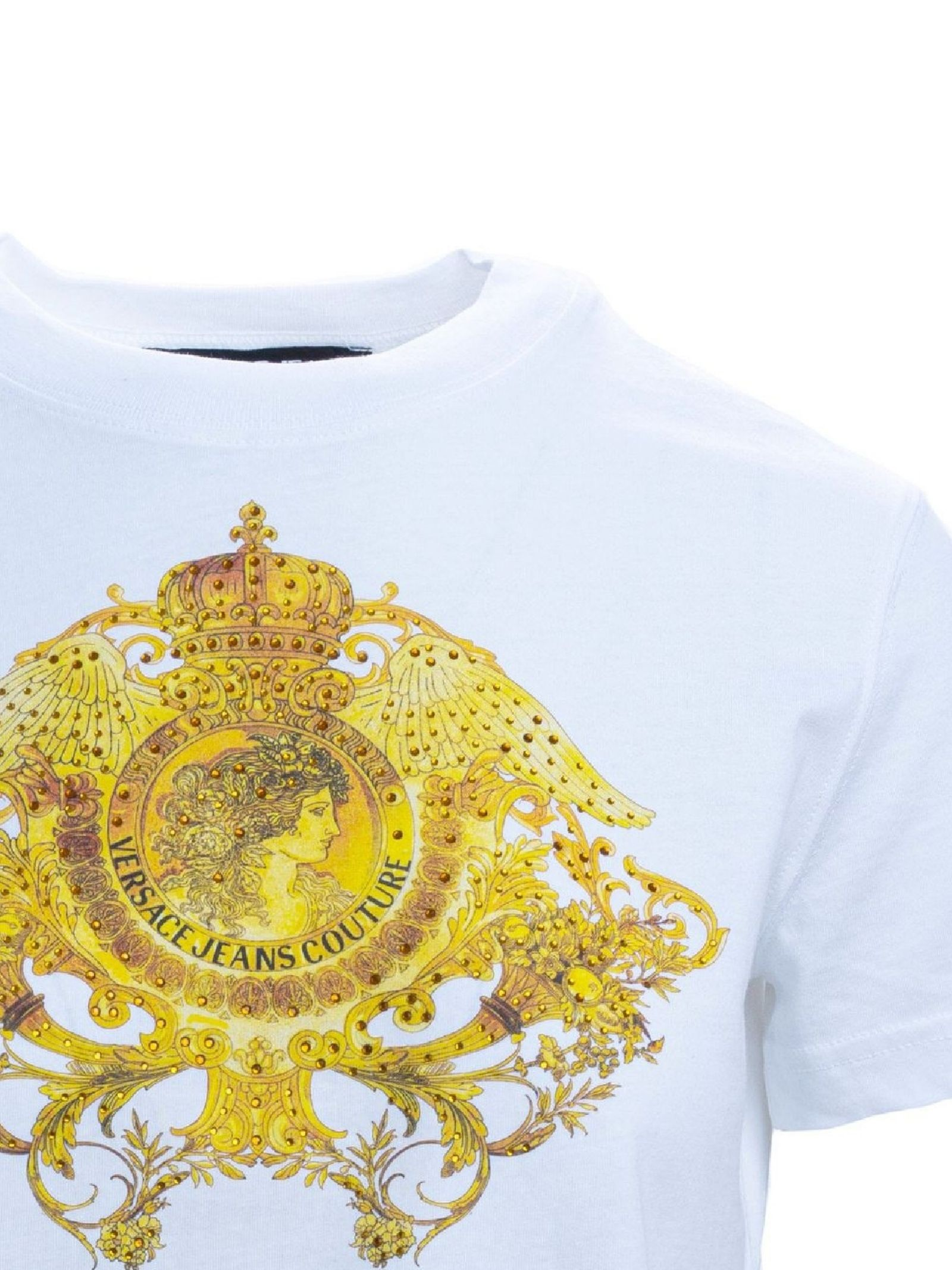 T-shirt con stampa VERSACE JEANS | T-shirt | B2HWA72911620003
