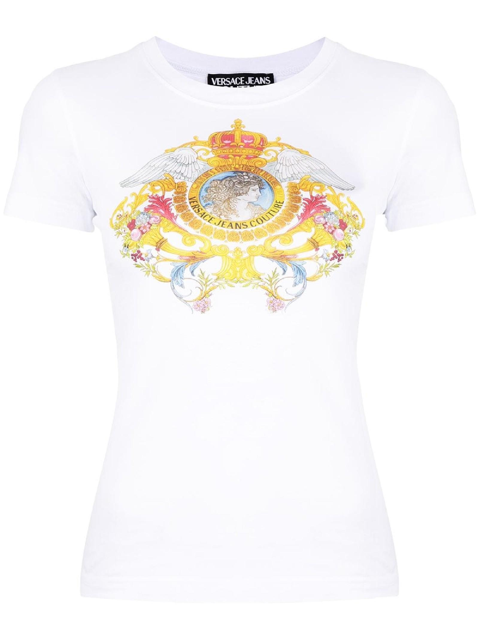 T-shirt con stampa VERSACE JEANS | T-shirt | B2HWA7KD30457003
