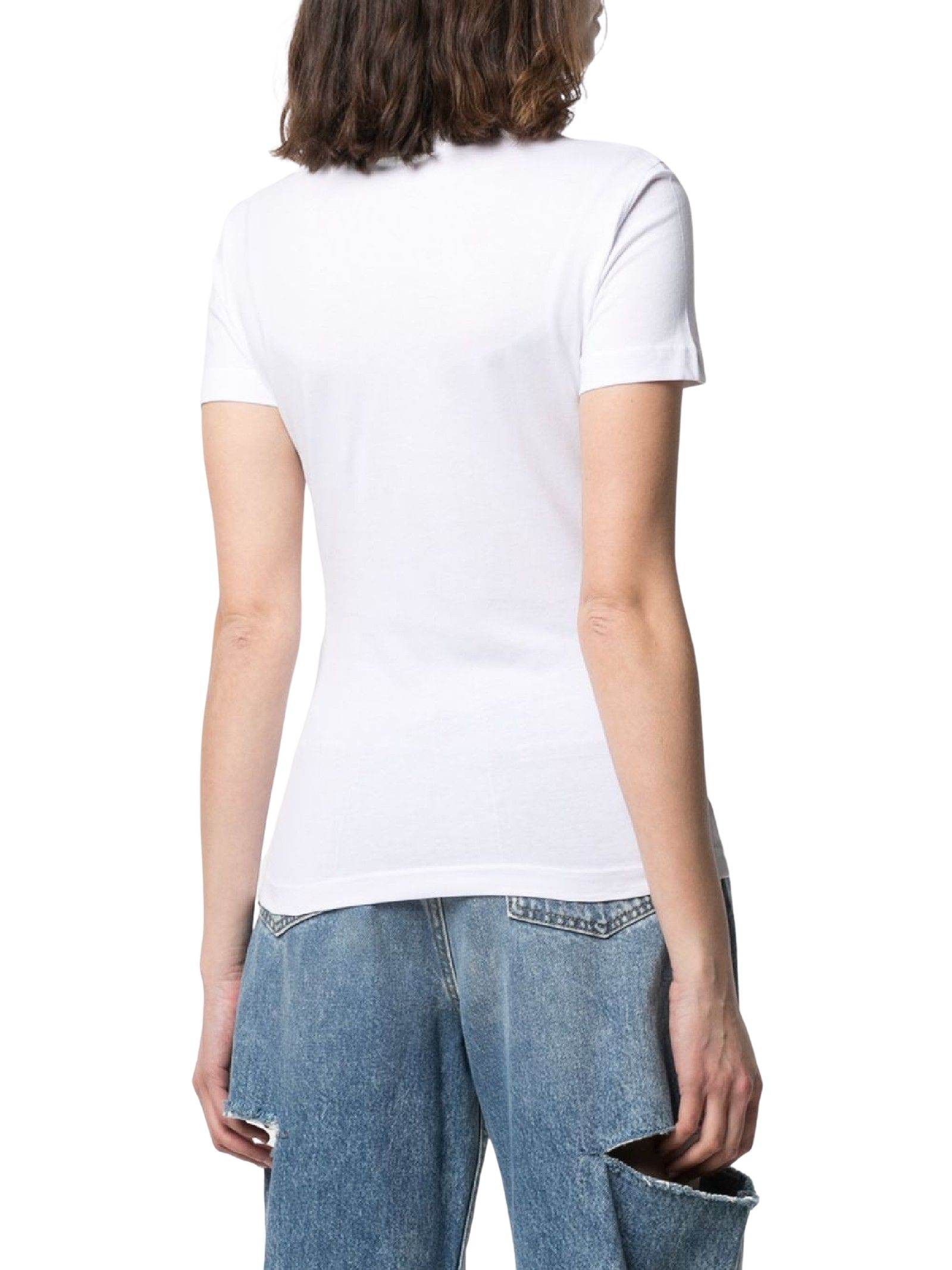 T-shirt con stampa VERSACE JEANS | T-shirt | B2HWA7PD30457003