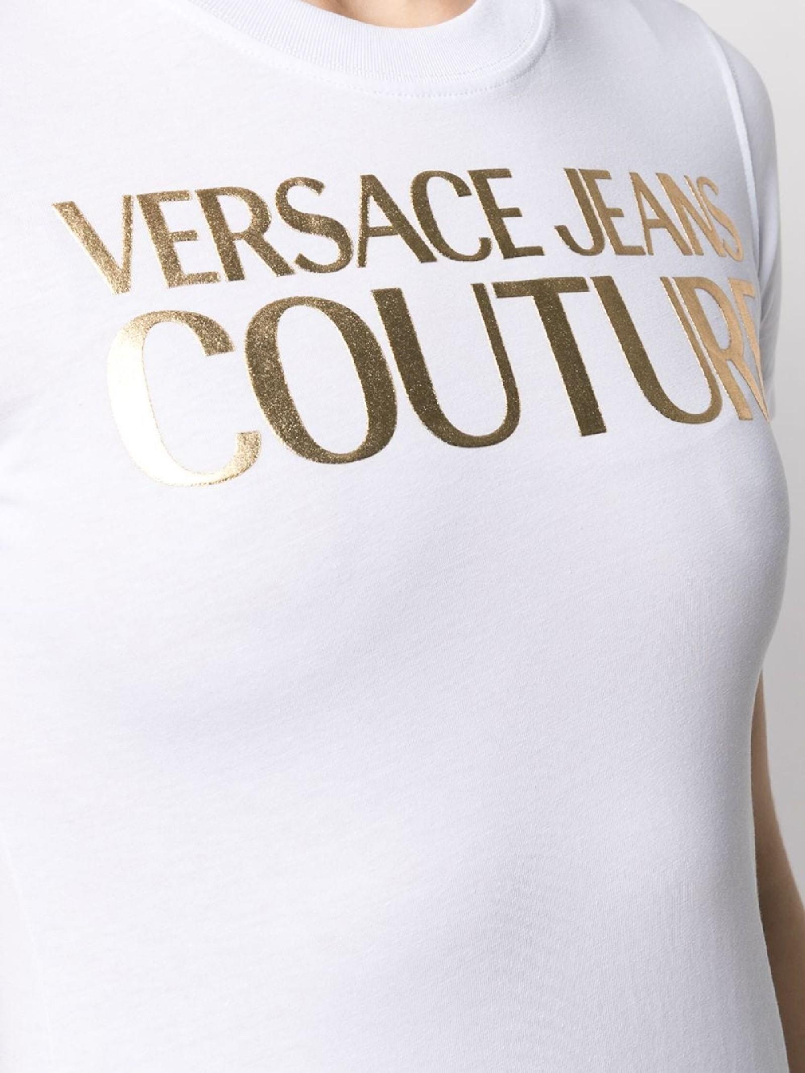 T-shirt con stampa VERSACE JEANS | T-shirt | B2HWA7TB30319K41