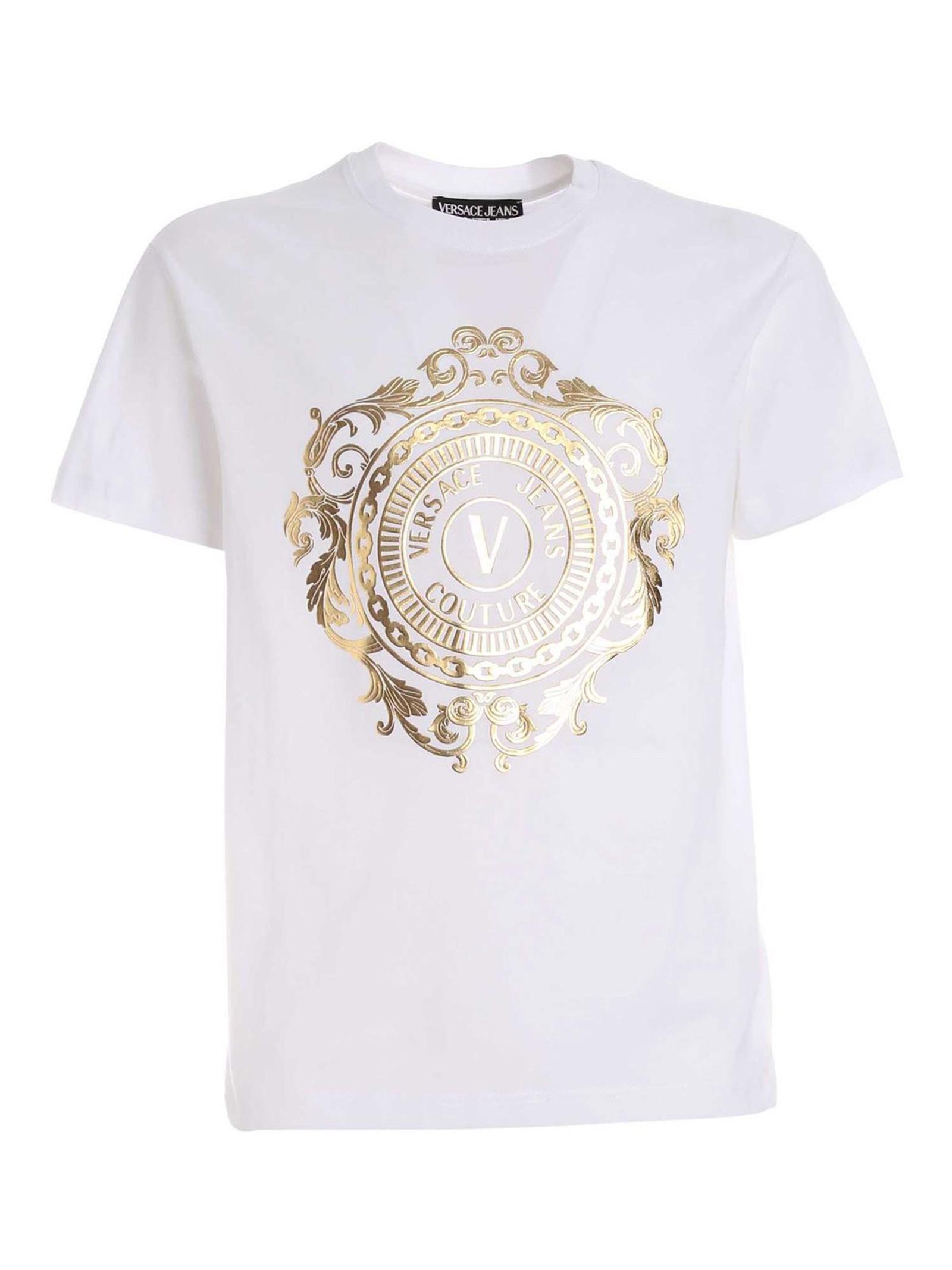 T-shirt Maniche Corte VERSACE JEANS   T-shirt   B3 GWA74F30454 K41