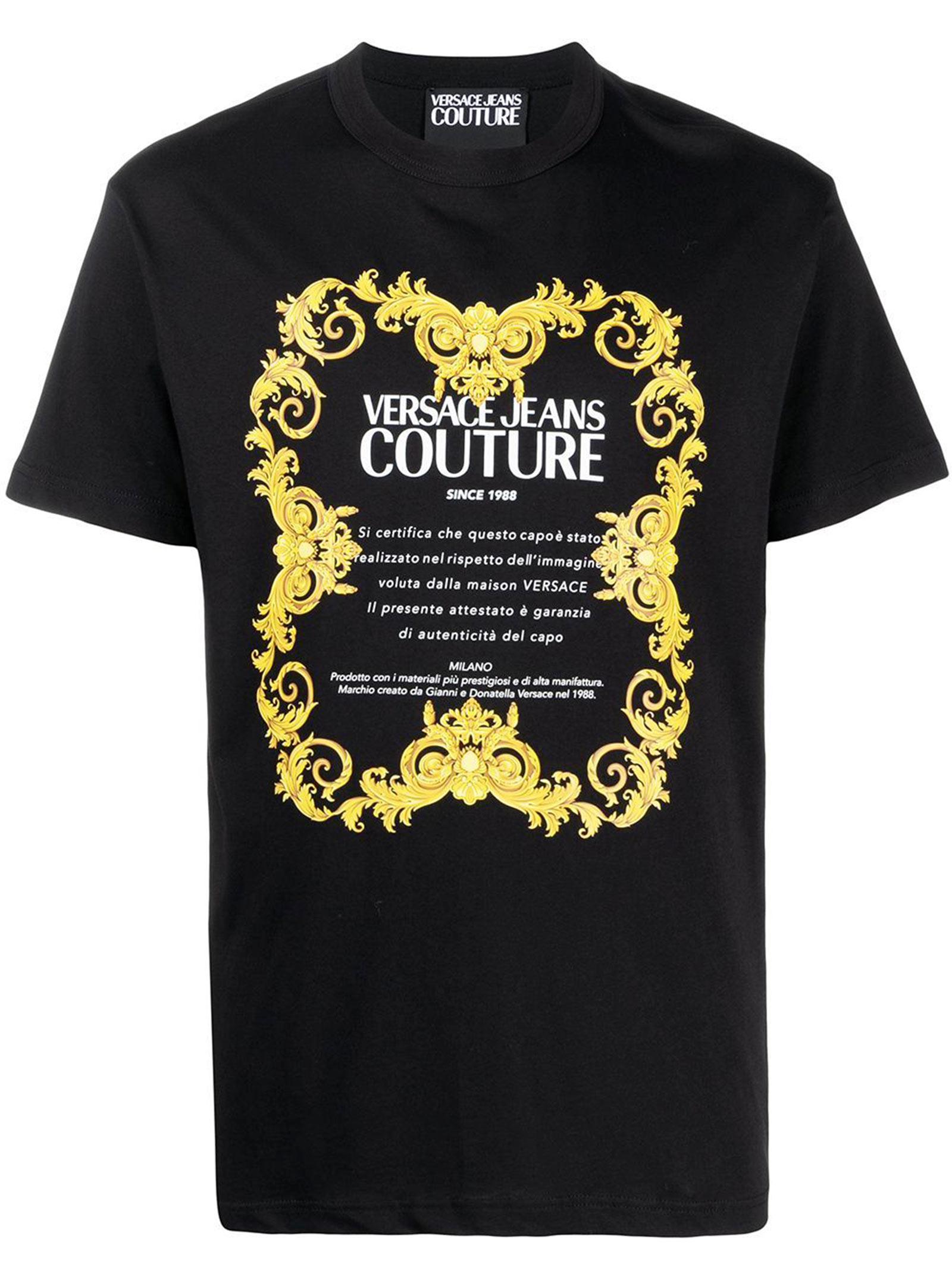 T-shirt Maniche Corte VERSACE JEANS | T-shirt | B3 GWA7TJ30319 K42