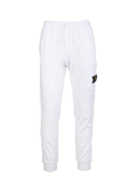pantalone fleece STONE ISLAND | Pantalone | 751564520V0001
