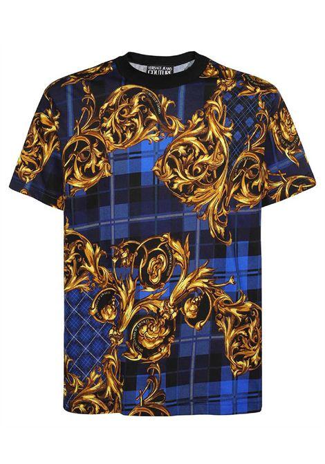 t-shirt maniche corte con stampa VERSACE JEANS | T-shirt | 71GAH6R6 JS025G42