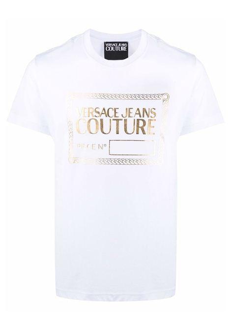 t-shirt VERSACE JEANS | T-shirt | 71GAHT04 CJ00TG03
