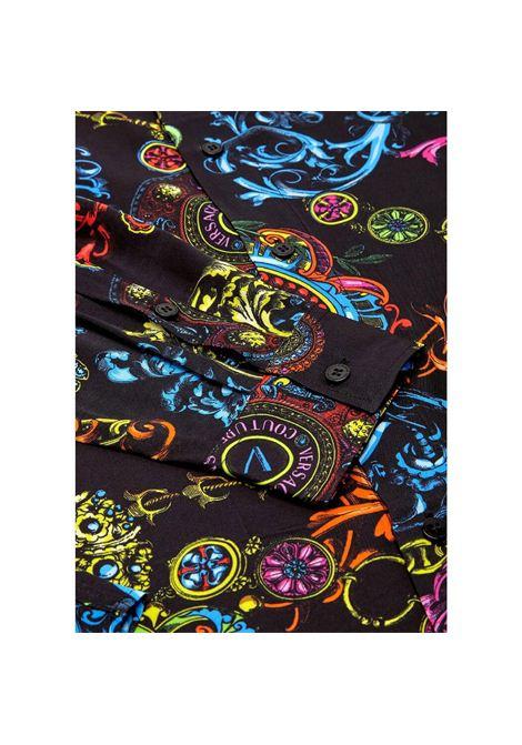 camicia con stampa regalia VERSACE JEANS | Camicia | 71GAL2R0 NS007899