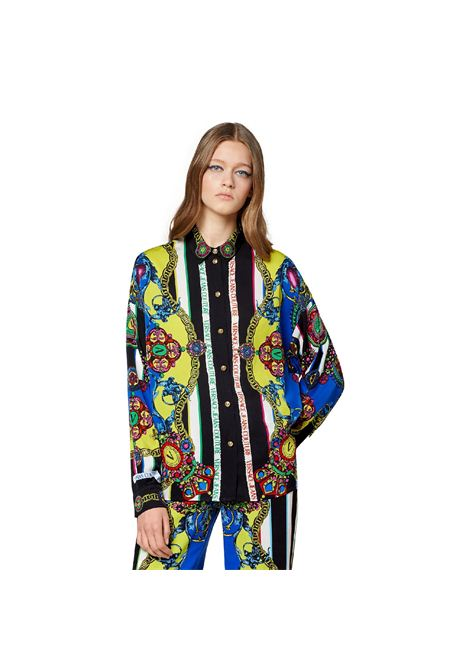 camicia con stampa VERSACE JEANS | Camicia | 71HAL2P1 NS033242