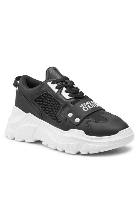 sneaker chunky con logo applicato VERSACE JEANS | Scarpe | 71YA3SC4 71604899