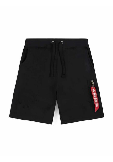 Shorts in black suit ALPHA INDUSTRIES | Shorts | 16630103