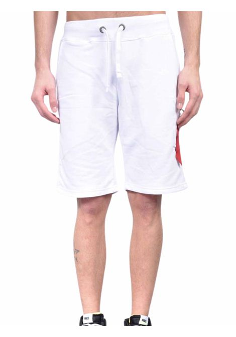 White tracksuit shorts ALPHA INDUSTRIES | Shorts | 16630109