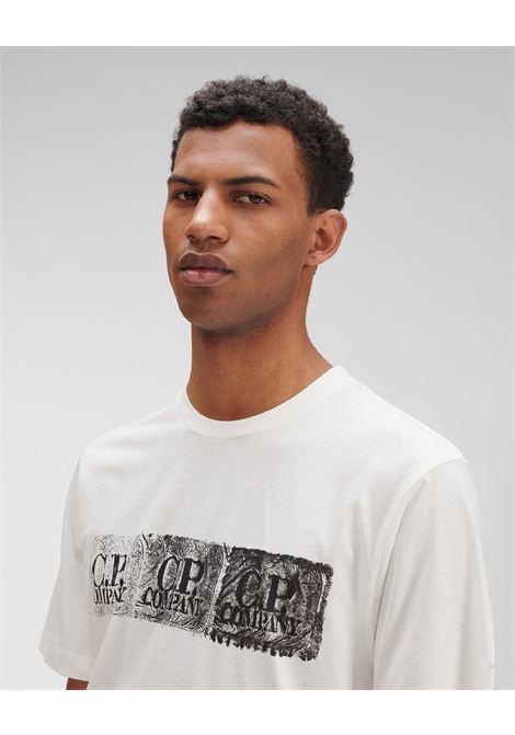 T-shirt con logo C.P. COMPANY | T-shirt | MTS200A00 6011W103