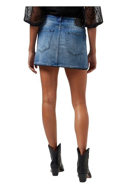 Minigonna in jeans denim blu DONDUP | Gonna | G481 DS0107DAY5V