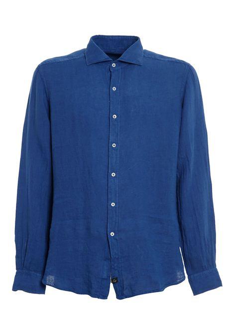 Camicia Collo Francese blue  FAY | Camicia | NCMA142259THTKU615