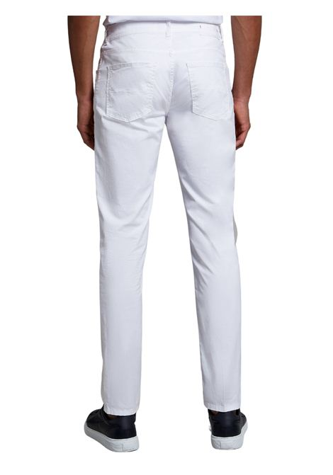 Pantalone 5 Tasche bianco FAY | Pantalone | NTM8242180TGURB001