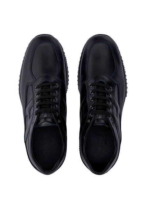 Sneakers Interactive Hogan in pelle HOGAN | Scarpe | HXM00N00010KLAB999