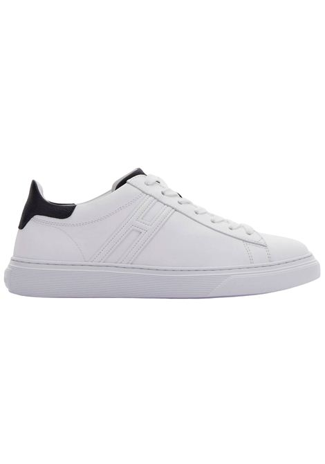 Sneakers Hogan in pelle scamosciata bianca HOGAN | Scarpe | HXM3650J960KFN0001