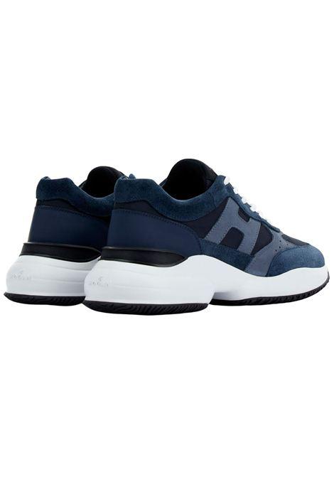Sneakers Hogan in camoscio HOGAN | Scarpe | HXM5450DN90PNS615E