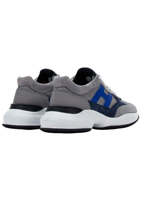 Sneakers Hogan in camoscio HOGAN | Scarpe | HXM5450DN90PNS615L