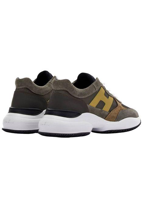 Sneakers Hogan in camoscio HOGAN | Scarpe | HXM5450DN90PNS615Z