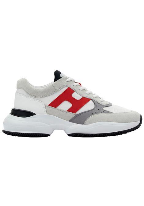 Sneakers Hogan in camoscio HOGAN | Scarpe | HXM5450DN90PNX615G