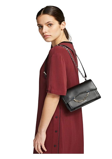 Handbag nera in pelle KARL LAGERFELD | Borsa | 205W3067.21999/A999