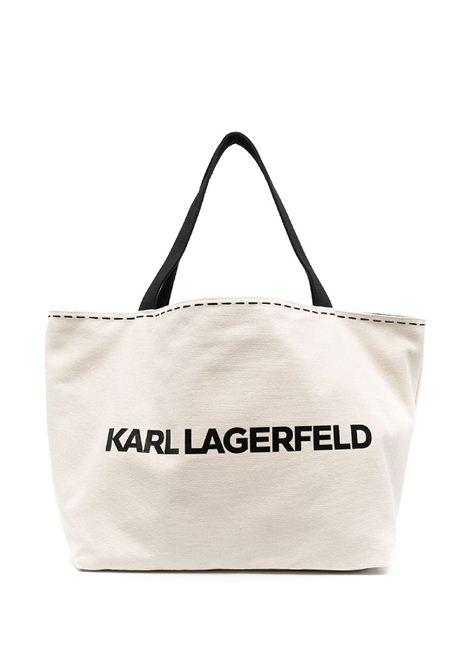Borsa reversibile K / Ikonik Graffiti KARL LAGERFELD | Borsa | 211W3058999/A999