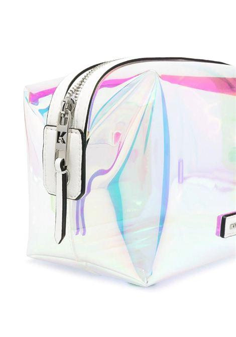 Beauty case con ologramma K / Journey KARL LAGERFELD | Borsa | 211W3211901/A901